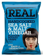 Chips havssalt och maltvinäger 35 g