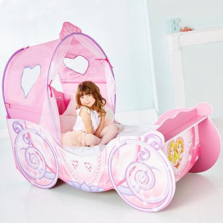 Disney Prinsesse vognseng med LYS