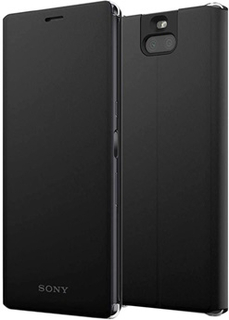 Sony Xperia 10 Style Cover Stand SCSI10 - Sort