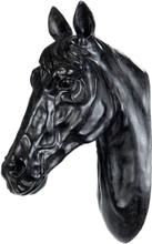 Väggdekoration häst - Svart