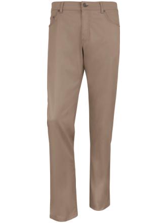 'Comfortable fit'-buks , model COOPER FANCY Fra Brax Feel Good beige - Peter Hahn