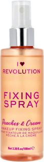 I Heart Revolution Scented Fixingspray Peaches & Cream