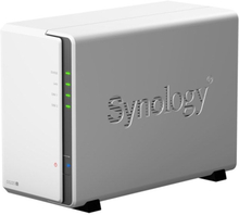 Synology DS220J Nas for 2 harddisker