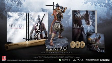 Sekiro: Shadows Die Twice Collectors Edition