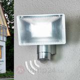 LED-väggstrålkastare utomhusbruk IR-rörelsedet.