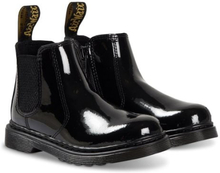 Dr. Martens, Black Patent 2976 Chelsea Boot