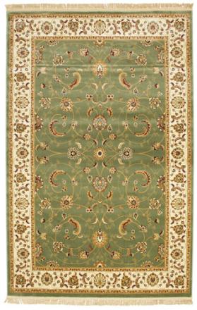 Sarina - Grön matta 200x300 Orientalisk Matta