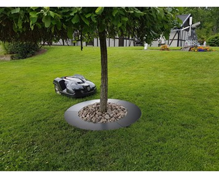 Ventura Tree ring 90cm for lawn movers metal painted