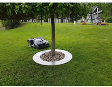 Ventura Tree ring 90cm for lawn movers metal unpainted