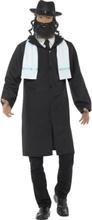 Kostume rabbiner til voksne - L