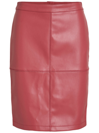 VILA Vipen - Skirt Women Red