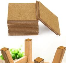 20pcs Furniture Pads Felt Sheets Self Adhesive Wood Floor Protectors 7cmx7cm