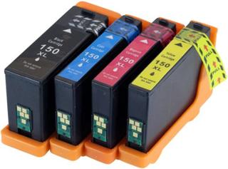 150XL (14N161) Bläckpatron MultiPack Bk/C/M/Y för Lexmark