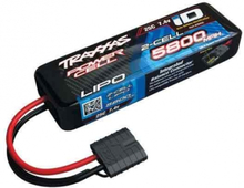Batteri Li-Po 2S 7,4v 25C 5800mAh med Traxxas iD-kontakt