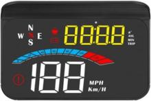 M16 Hastighetsmätare HUD GPS Projector LCD Display