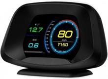 P19 Hastighetsmätare HUD OBD GPS LCD Display