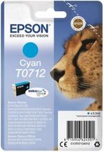 T0712 Originalblekk cyan for Epson