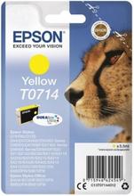T0714 Originalbläck gul for Epson