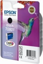 T0801 originalblekk svart Epson