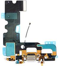 iPhone 7 Laddkontakt med flexkabel (Färg: Vit)