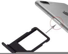 iPhone 7 Plus Simkortshållare (Färg: Svart)