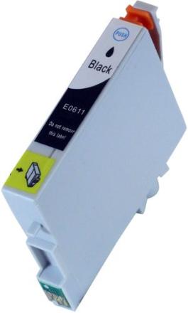 T0611 Blekkpatron svart for Epson