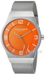Akribos XXIV AK851OR Orange/Stål Ø40 mm