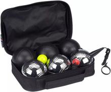 Get & Go Get & Go Boulespel set Luxe 6 kulor svart & silver 52JT-ZIZ-Uni