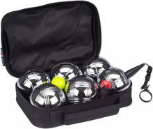 Get & Go Get & Go Boulespel set VI 6 kulor silver 52JV-CHR-Uni