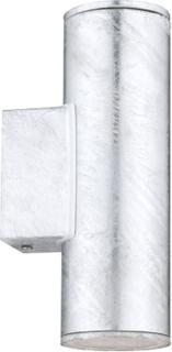 EGLO Utomhusvägglampa Riga 4 3W 20 cm silver 30911