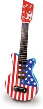 Vilac USA Rock Guitar - American flag