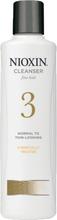 Nioxin 3 Cleanser shampoo (U) 300 ml
