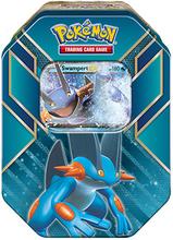 Pokemon kort i tin box 2015 Summer - Swampert EX kort