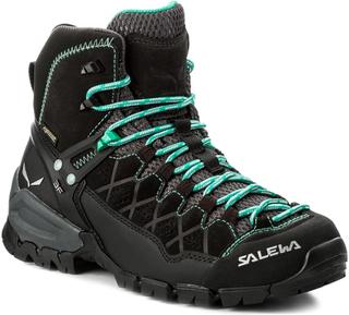 Trekking-skor SALEWA - Alp Trainer Mid Gtx GORE-TEX 63433-0969 Black Out/Agata