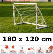 Fodboldmål 180 x 120 cm