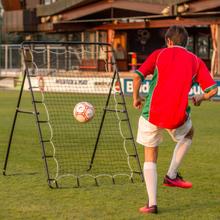 Stor fodbold rebounder 250 x 200 cm