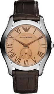 Klocka EMPORIO ARMANI - Valente AR1704 Dark Brown/Silver Steel