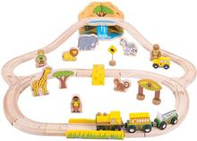 Safari togsæt - Togbane fra BigJigs