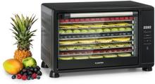 Mega Jerky torkautomat 650W 35-80°C LC-touch-display 8 hyllor svart