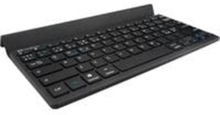 2in1 Bluetooth Keyboard Nordic - Tastatur - Nordisk - Svart