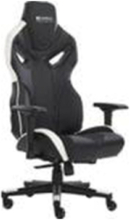 Voodoo Gaming Chair Black/Whit Krzes?o gamingowe - Skóra PU - 150 kg
