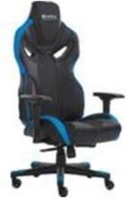 Voodoo Gaming Chair Black/Blue Gaming Stuhl - Schwarz / Blau - PU-Leder - Bis zu 150 kg