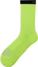 Shimano Original Tall Socks lime yellow S-M   EU 36-40 2019 Strumpor