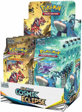 Pokemon Sun and Moon 11: Cosmic Eclipse Theme Deck Display