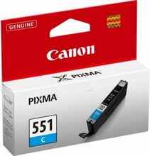 CLI-551C Originalblekk cyan for Canon