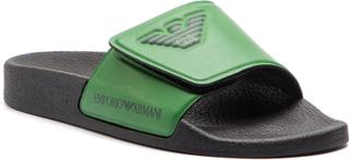 Sandaler EMPORIO ARMANI - XYPS01 XOZ06 N761 Dark Green/Green