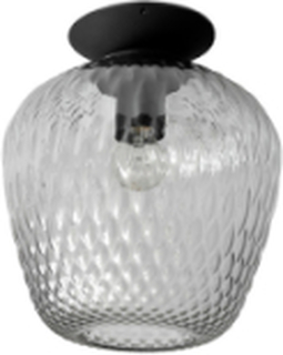 Blown Taklampe SW5 Silver Lustre & Svart - &tradition