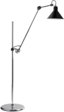 215 Lattiavalaisin Kromi/Musta - Lampe Gras