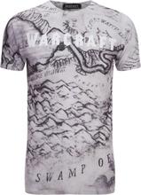 Warcraft Men's Map T-Shirt - White - S - White