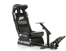 Forza Motorsport Racer Stuhl - Schwarz - PU-Leder - Bis zu 120 kg